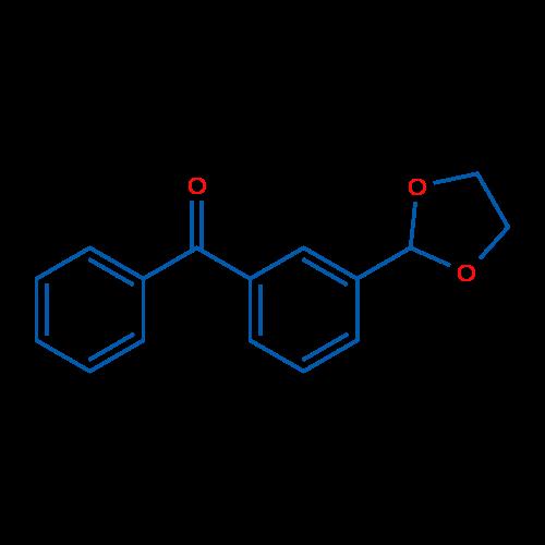 3-(1,3-Dioxolan-2-yl)benzophenone