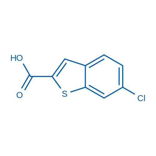 6-Chlorobenzo[b]thiophene-2-carboxylic acid
