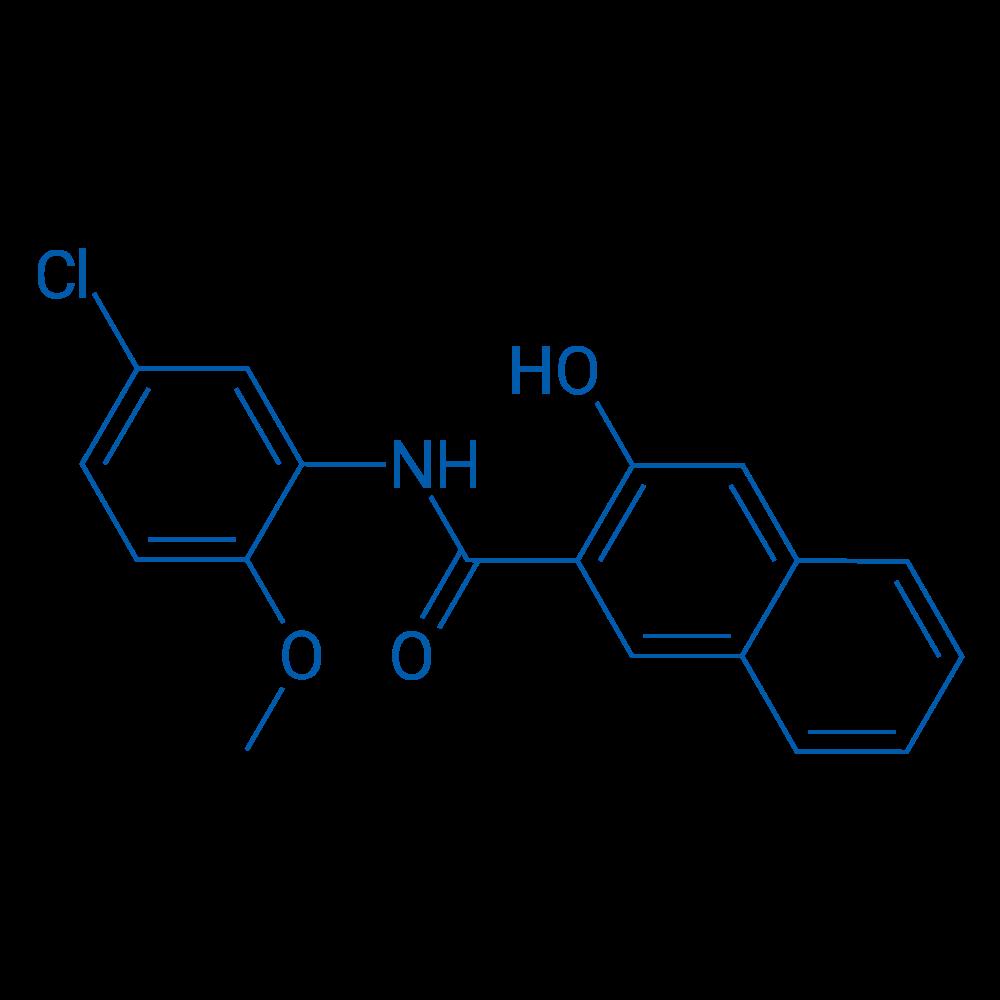 N-(5-Chloro-2-methoxyphenyl)-3-hydroxy-2-naphthamide