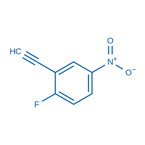 2-Ethynyl-1-fluoro-4-nitrobenzene