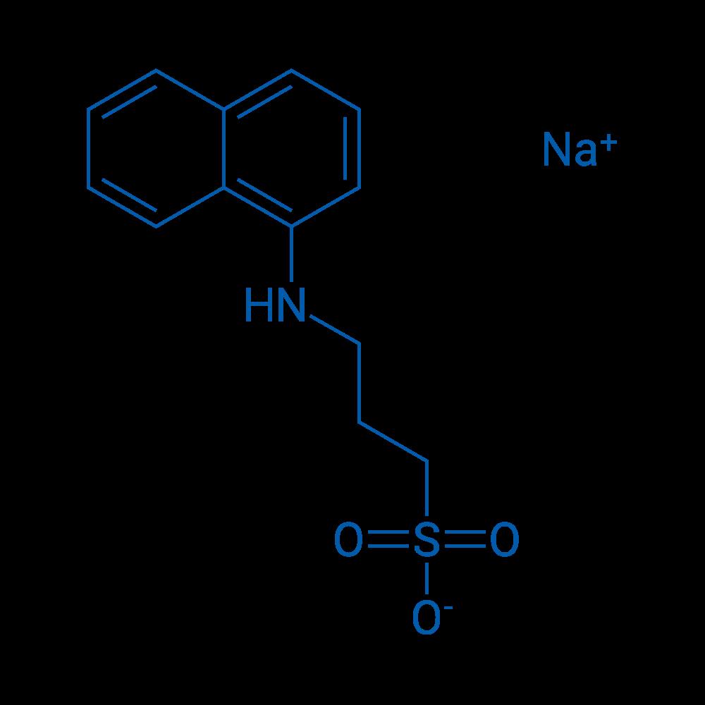 Sodium 3-(naphthalen-1-ylamino)propane-1-sulfonate