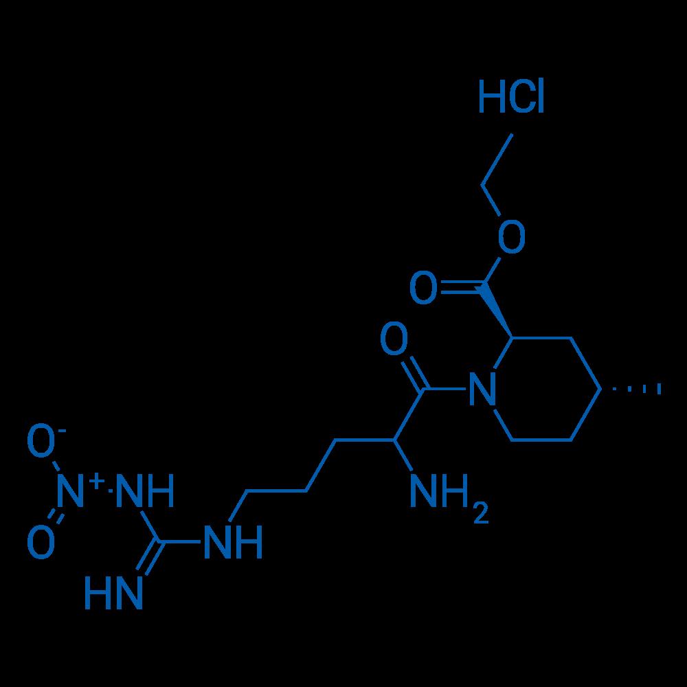(2R,4R)-Ethyl 1-(2-amino-5-(3-nitroguanidino)pentanoyl)-4-methylpiperidine-2-carboxylate hydrochloride