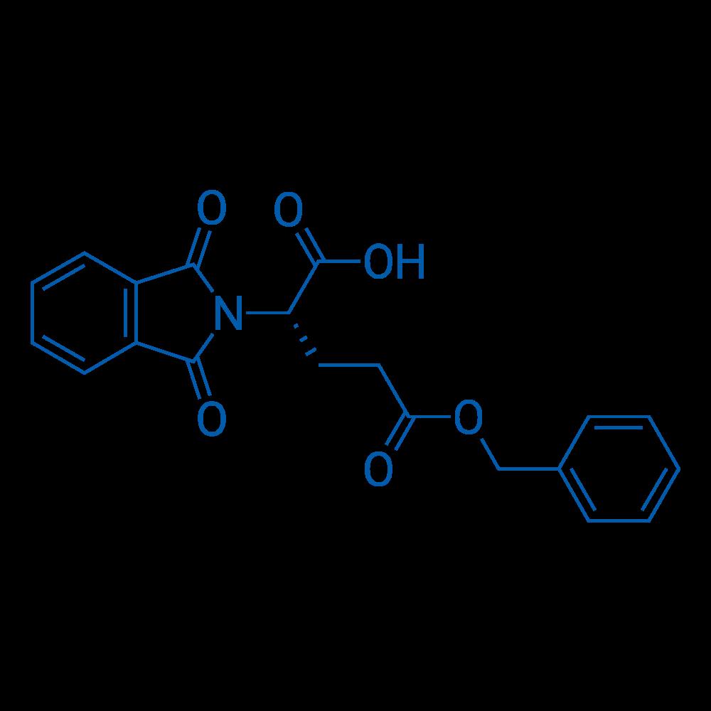 (S)-5-(Benzyloxy)-2-(1,3-dioxoisoindolin-2-yl)-5-oxopentanoic acid