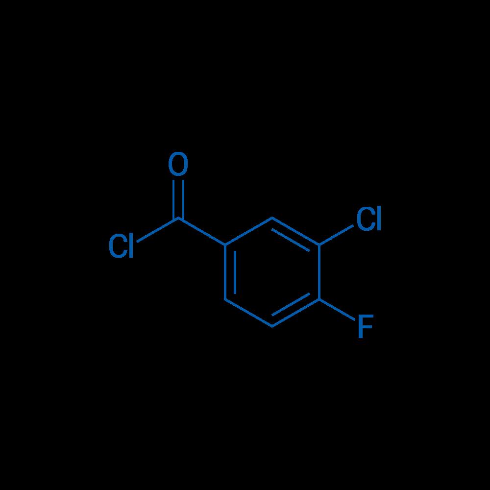 3-Chloro-4-fluorobenzoyl chloride