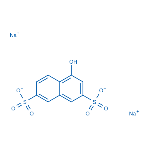 Sodium 4-hydroxynaphthalene-2,7-disulfonate