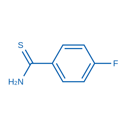 4-Fluorobenzothioamide