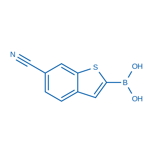 (6-Cyanobenzo[b]thiophen-2-yl)boronic acid