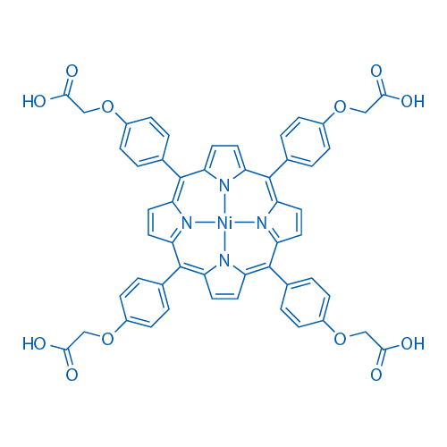 ACetic acid, 2,2',2'',2'''-[21H,23H-porphine-5,10,15,20-tetrayltetrakis(4,1-phenyleneoxy)]tetrakis-