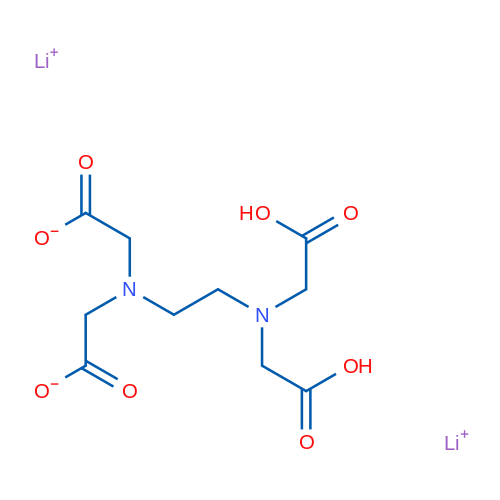 Lithium 2,2'-((2-(bis(carboxymethyl)amino)ethyl)azanediyl)diacetate
