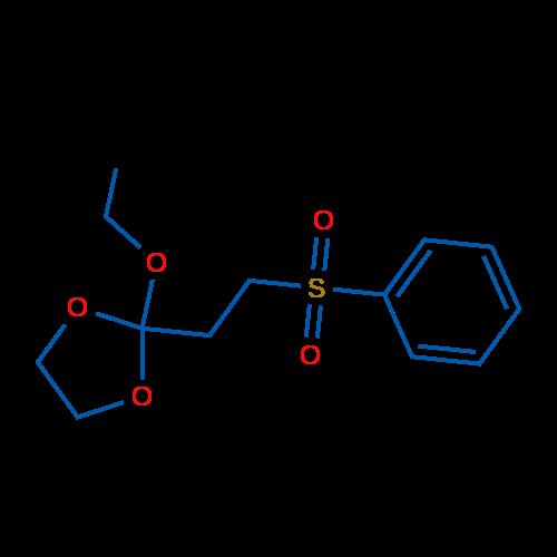 2-Ethoxy-2-(2-(phenylsulfonyl)ethyl)-1,3-dioxolane