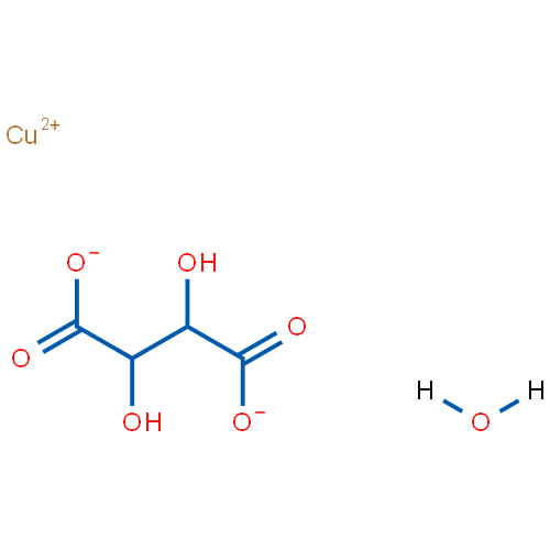 Copper(II) tartrate hydrate