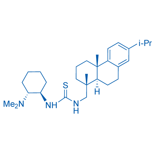 1-((1R,2R)-2-(Dimethylamino)cyclohexyl)-3-(((1R,4aS,10aR)-7-isopropyl-1,4a-dimethyl-1,2,3,4,4a,9,10,10a-octahydrophenanthren-1-yl)methyl)thiourea