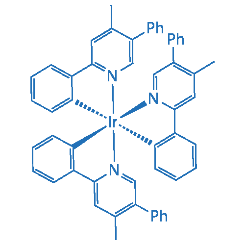 Iridium, tris[2-(4-methyl-5-phenyl-2-pyridinyl-κN)phenyl-κC]-