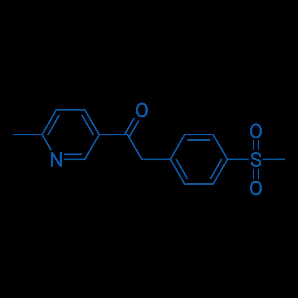1-(6-Methylpyridin-3-yl)-2-(4-(methylsulfonyl)phenyl)ethanone