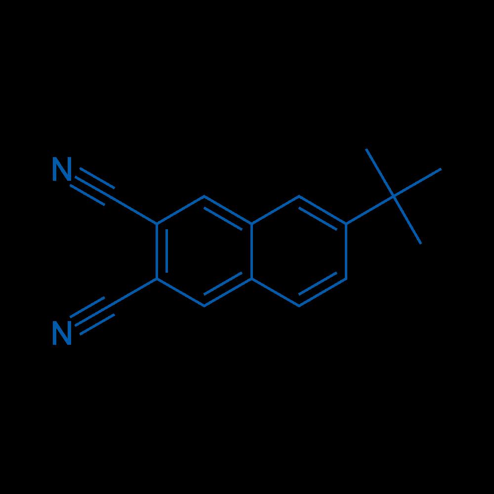 6-(tert-Butyl)naphthalene-2,3-dicarbonitrile
