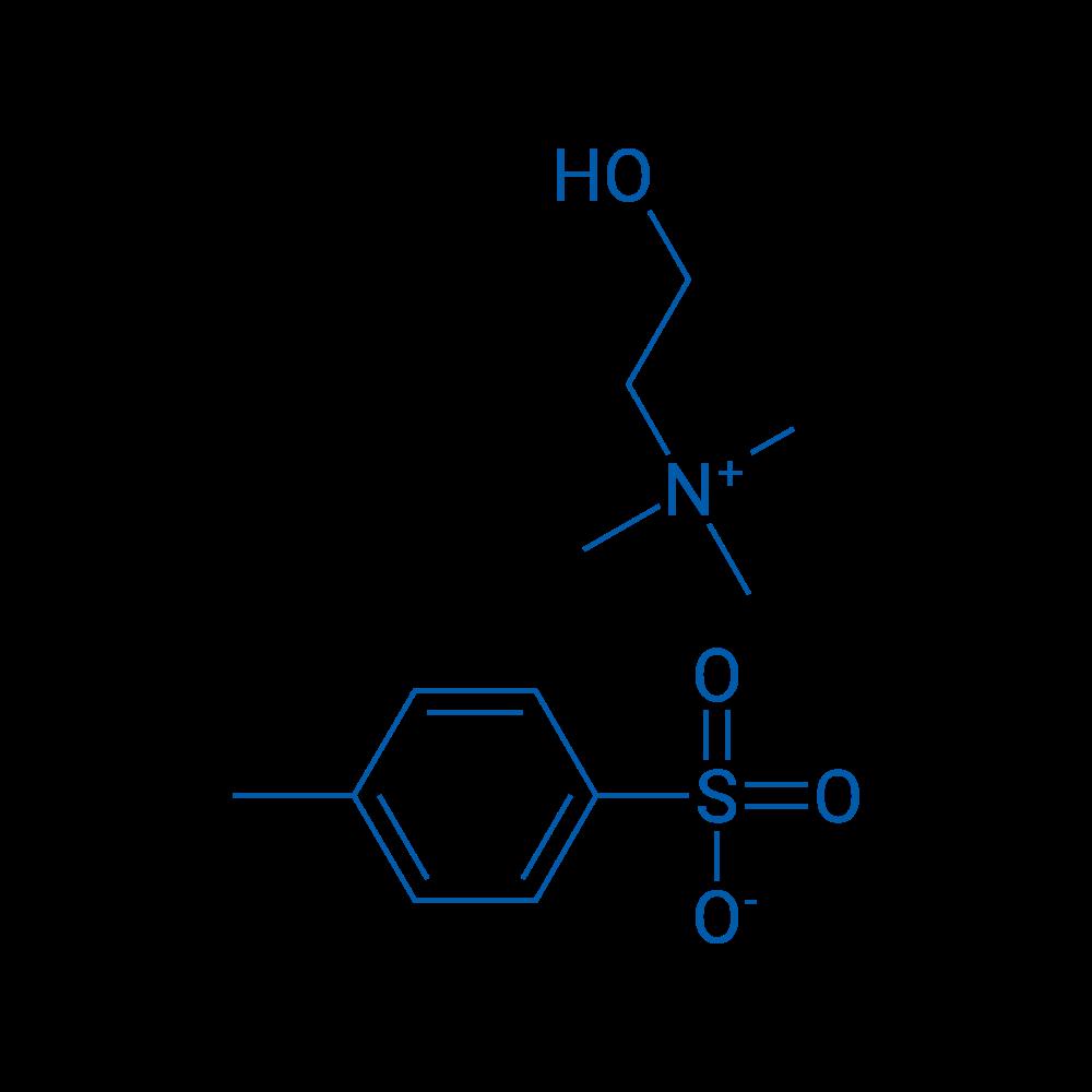 2-Hydroxy-N,N,N-trimethylethanaminium 4-methylbenzenesulfonate