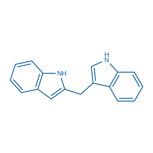 3-((1H-Indol-2-yl)methyl)-1H-indole