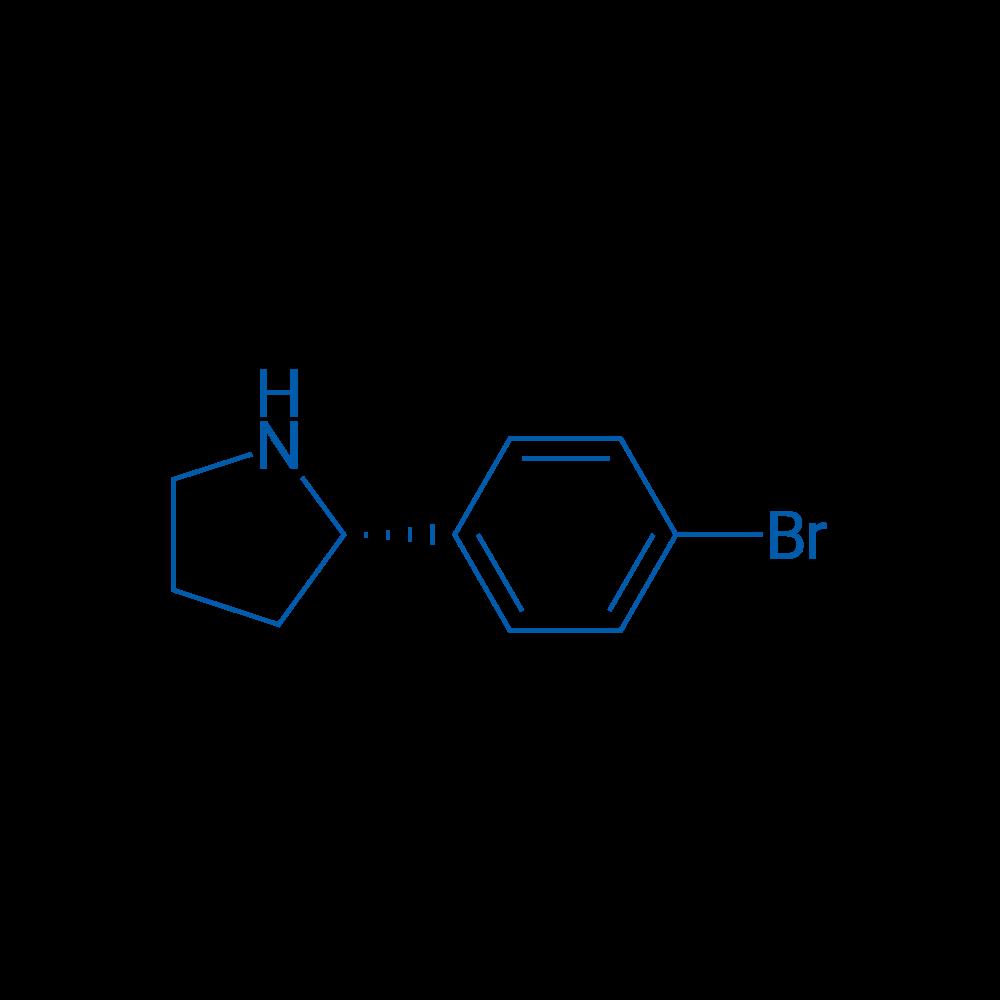 (S)-2-(4-Bromophenyl)pyrrolidine
