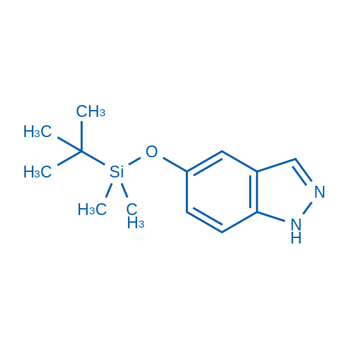 5-((tert-Butyldimethylsilyl)oxy)-1H-indazole