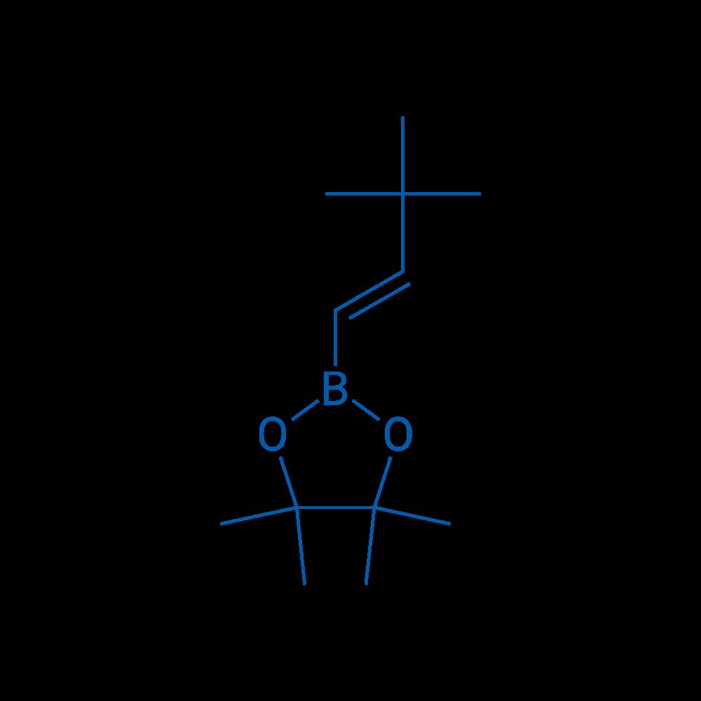 2-(3,3-Dimethylbut-1-en-1-yl)-4,4,5,5-tetramethyl-1,3,2-dioxaborolane