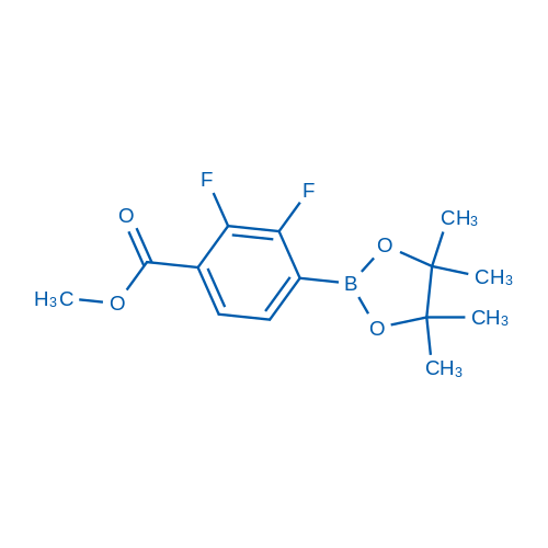 Methyl 2,3-difluoro-4-(4,4,5,5-tetramethyl-1,3,2-dioxaborolan-2-yl)benzoate