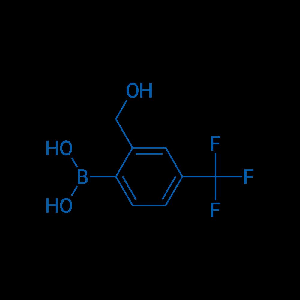2-(Hydroxymethyl)-4-(trifluoromethyl)phenylboronic acid