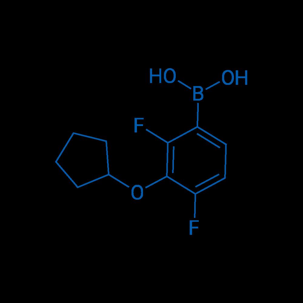 3-(Cyclopentyloxy)-2,4-difluorophenylboronic acid