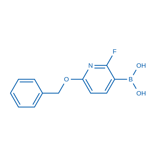 6-Benzyloxy-2-fluoropyridine-3-boronic acid