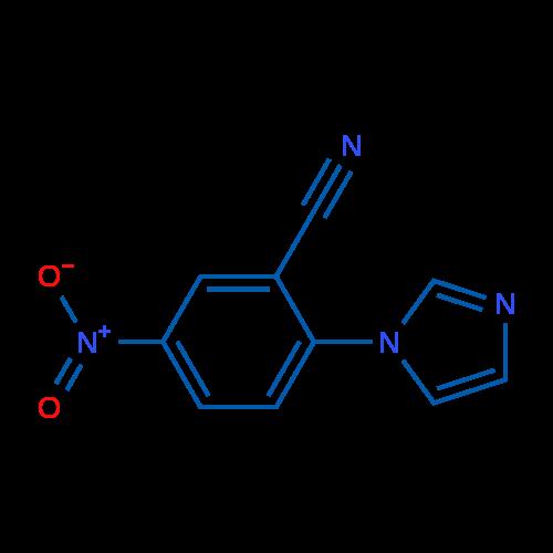 2-(Imidazol-1-yl)-5-nitrobenzonitrile