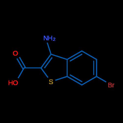 3-Amino-6-bromo-1-benzothiophene-2-carboxylic acid