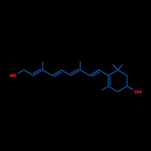 4-((1E,3E,5E,7E)-9-Hydroxy-3,7-dimethylnona-1,3,5,7-tetraen-1-yl)-3,5,5-trimethylcyclohex-3-enol