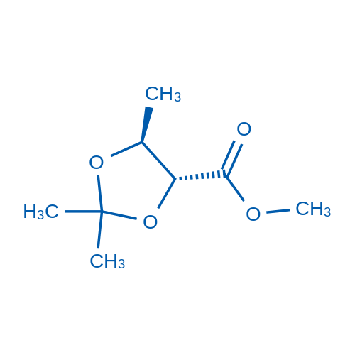 (4R,5S)-Methyl 2,2,5-trimethyl-1,3-dioxolane-4-carboxylate