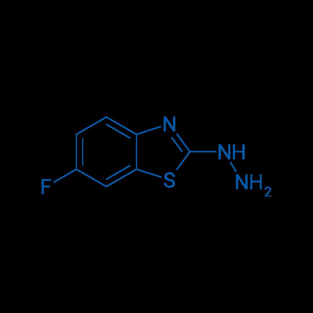 6-Fluoro-2-hydrazinylbenzo[d]thiazole