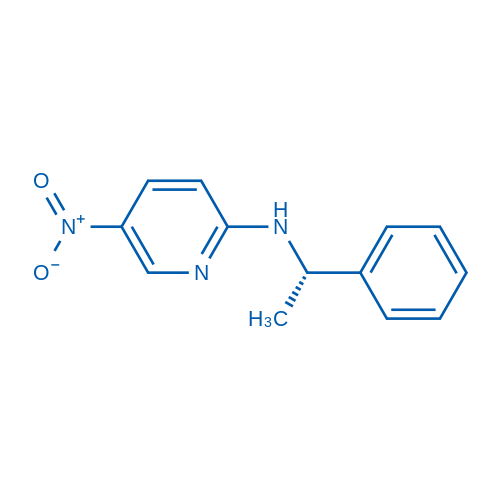 (S)-5-Nitro-N-(1-phenylethyl)pyridin-2-amine