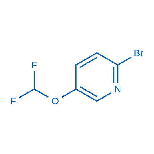 2-Bromo-5-(difluoromethoxy)pyridine