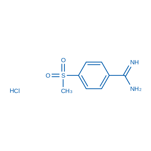 4-Methanesulfonylbenzamidine hydrochloride