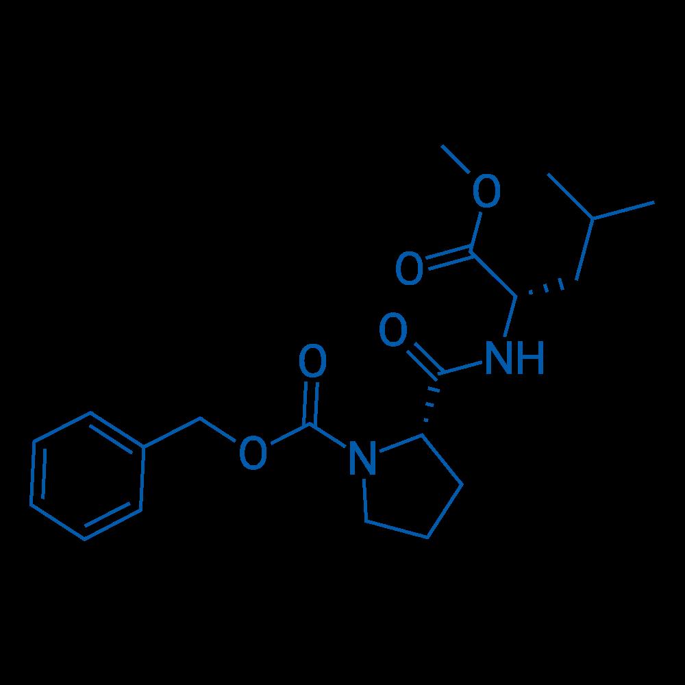 (S)-Benzyl 2-(((S)-1-methoxy-4-methyl-1-oxopentan-2-yl)carbamoyl)pyrrolidine-1-carboxylate