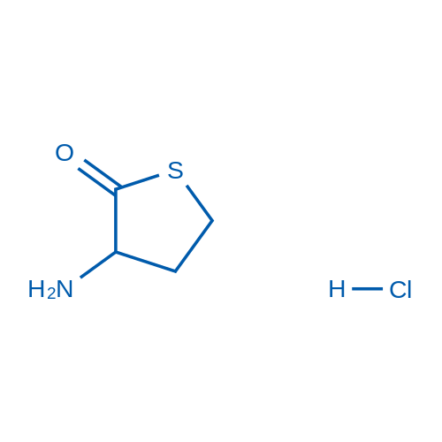 3-Aminodihydrothiophen-2(3H)-one hydrochloride