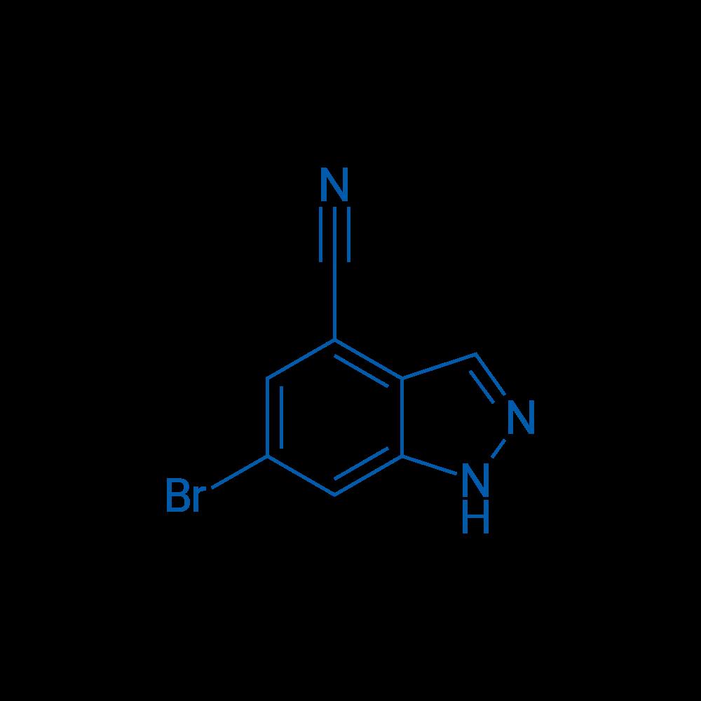6-Bromo-1H-indazole-4-carbonitrile