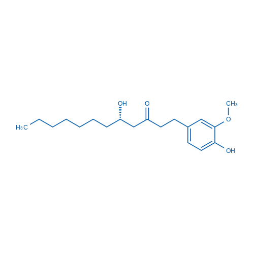 (S)-5-Hydroxy-1-(4-hydroxy-3-methoxyphenyl)dodecan-3-one