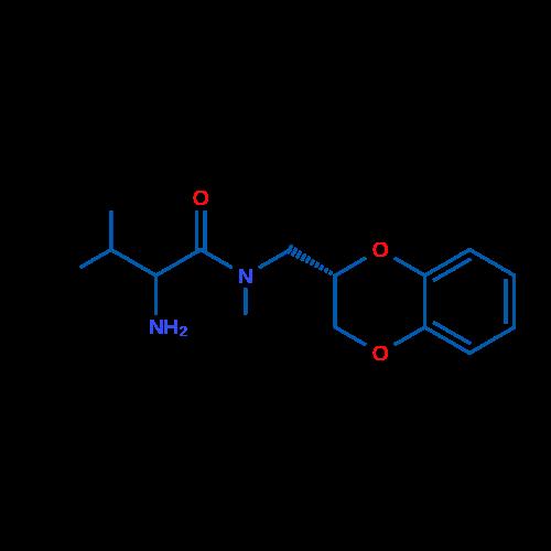 2-Amino-N-(((S)-2,3-dihydrobenzo[b][1,4]dioxin-2-yl)methyl)-N,3-dimethylbutanamide