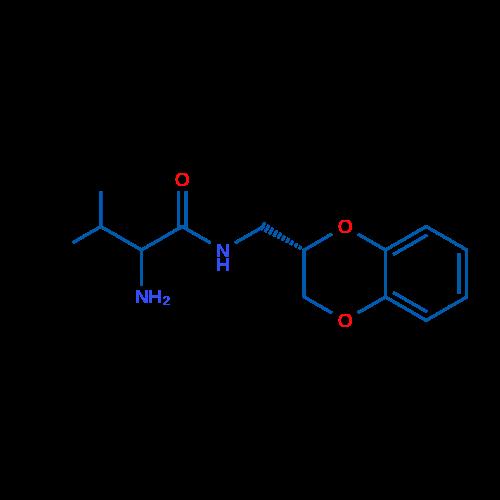 2-Amino-N-(((S)-2,3-dihydrobenzo[b][1,4]dioxin-2-yl)methyl)-3-methylbutanamide