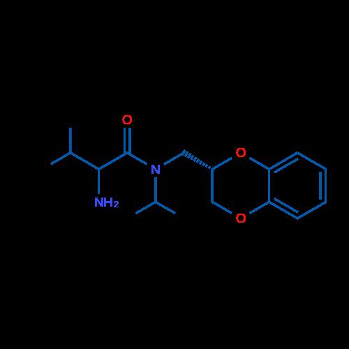 2-Amino-N-(((S)-2,3-dihydrobenzo[b][1,4]dioxin-2-yl)methyl)-N-isopropyl-3-methylbutanamide