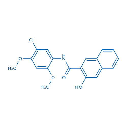 N-(5-Chloro-2,4-dimethoxyphenyl)-3-hydroxy-2-naphthamide
