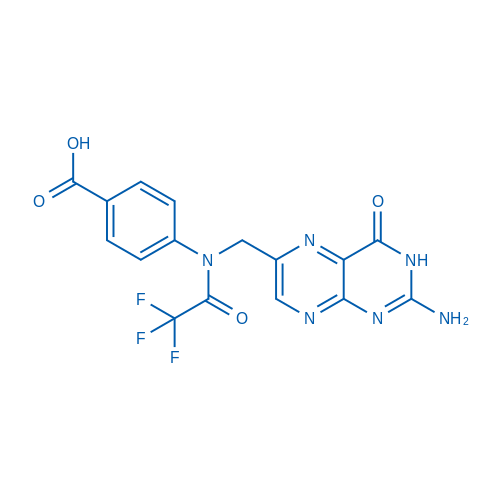 4-(N-((2-Amino-4-oxo-3,4-dihydropteridin-6-yl)methyl)-2,2,2-trifluoroacetamido)benzoic acid