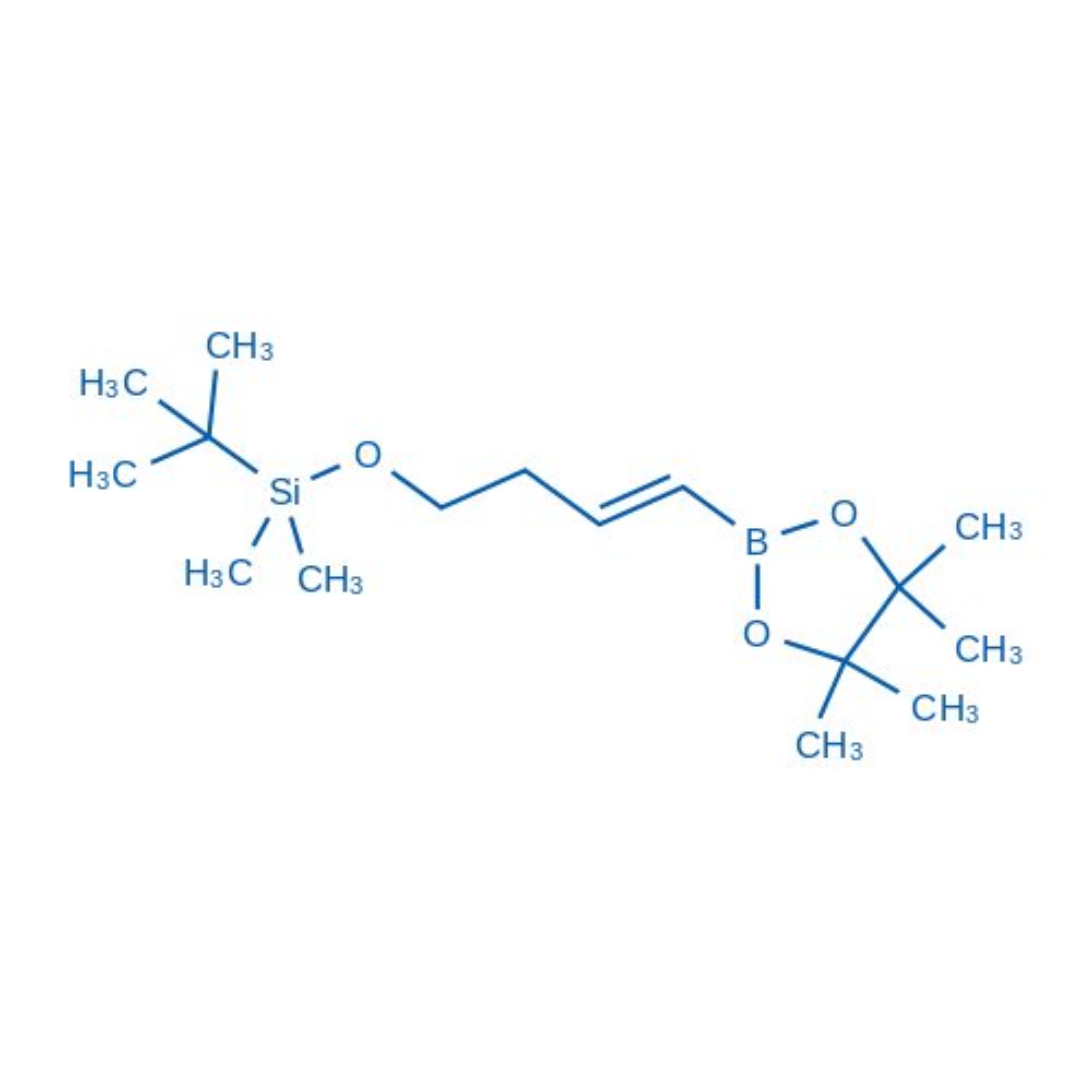 (E)-tert-Butyldimethyl((4-(4,4,5,5-tetramethyl-1,3,2-dioxaborolan-2-yl)but-3-en-1-yl)oxy)silane
