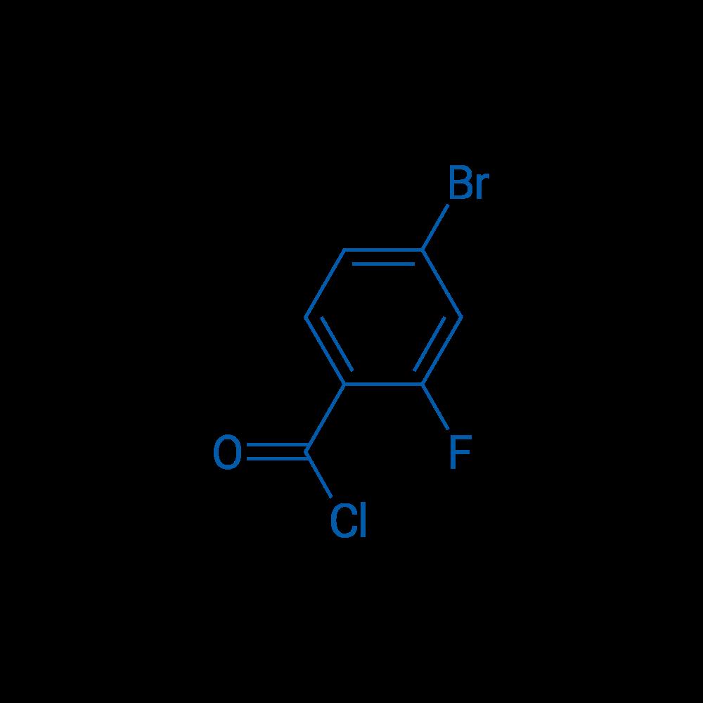 4-Bromo-2-fluorobenzoyl chloride