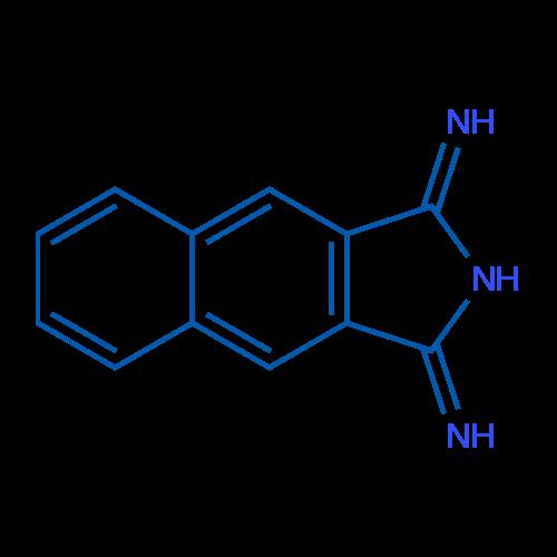1H-Benzo[f]isoindole-1,3(2H)-diimine