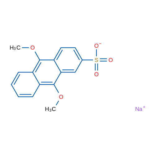 Sodium 9,10-dimethoxyanthracene-2-sulfonate