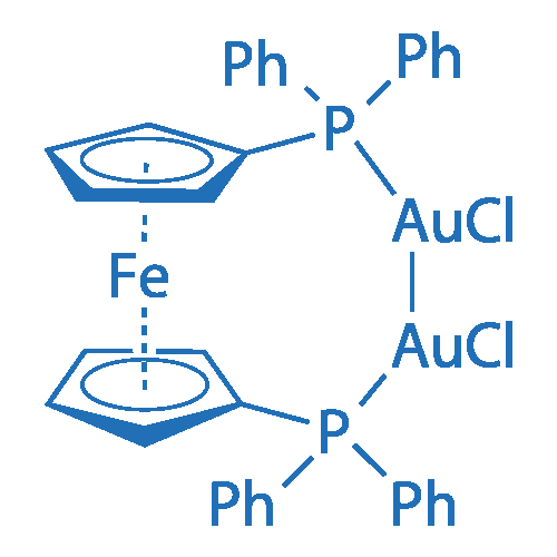 Bis(chlorogold(I)) [1,1'-bis(diphenylphosphino)ferrocene]
